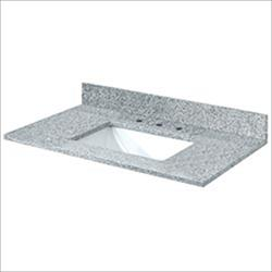 Pedra Granite Vanity Top with UM Trough Bowl