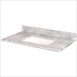 Pedra Marble Vanity Top with UM Trough Bowl