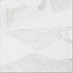 """Pedra Marble Tile - Polished Calacatta Gold / 12""""x24""""x3/8"""" / Polished"""
