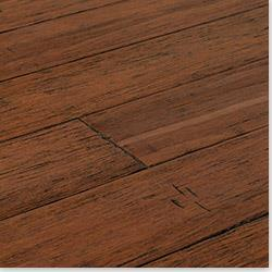 Yanchi Click Lock Barn Plank Strand Woven Bamboo Collection