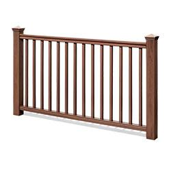 Kontiki Deck Railing - Synthetic Wood Kit