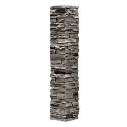 StoneWorks Faux Stone - Railing Post Covers Iron / Railing Post Covers