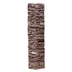 StoneWorks Faux Stone - Railing Post Covers Sienna / Railing Post Covers