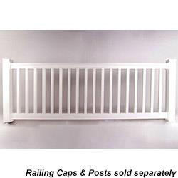 Longevity Vinyl Deck Railing System