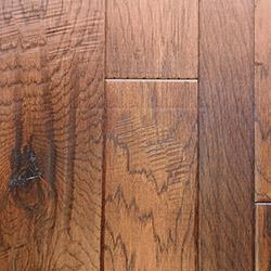 Vanier Engineered Hardwood - Blended Width Chiseled Hickory Collection Robson / Hickory / Random