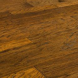 Vanier Engineered Hardwood - Blended Width Chiseled Hickory Collection Hinton / Hickory / Random