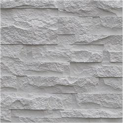 Black Bear Faux Stone Siding - Stacked Stone Collection Frost / Panel 15.284 sq ft