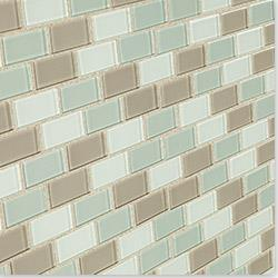 Cabot Glass Tile - Crystalized Glass Blend 4mm Series