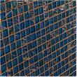 "Cabot Cabot Glass Mosaic - Iridescent Series<br>Blue / 3/4""x3/4""