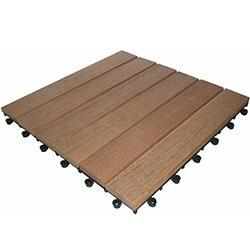 Kontiki Hardwood Interlocking Deck Tiles