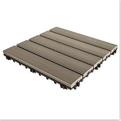 Kontiki Interlocking Deck Tiles - Engineered Polymer Series