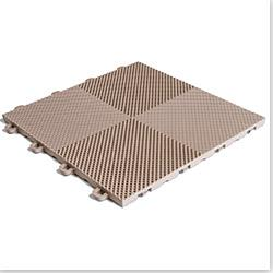 BlockTile Interlocking Deck Tiles - Multi-Purpose Perforated