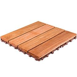 FlexDeck Wood Deck Tiles