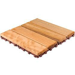 FlexDeck Interlocking Deck Tiles - Wood