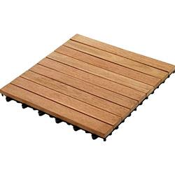 Kontiki Interlocking Deck Tiles - Hardwood Series