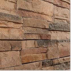 Black Bear Premium Manufactured Stone - Reno Ready Stack Evening / Ready Stack 10 Sq ft Panel