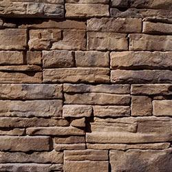 Black Bear Manufactured Stone Veneer Container - Carolina Ready Stack