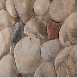 Black Bear Premium Manufactured Stone - River Rock 