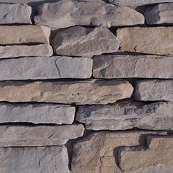 Black Bear Manufactured Stone Container - Ledge Stone Collection Moab / Flat (Bulk)