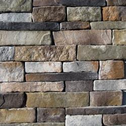 Black Bear Manufactured Stone Container - Southern Stacked Stone Aspen / Stacked Stone 150 sq ft Pallet