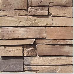 Black Bear Manufactured Stone Container - Country Ledge Stone Alabama / Country Ledge 100 sq ft Pallet