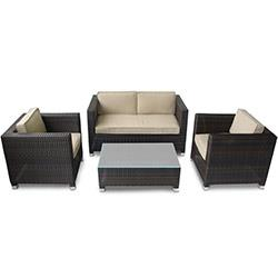 Kontiki Conversation Sets - Wicker Sofa Sets