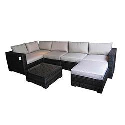 Kontiki Conversation Sets - Wicker Sectional Sets