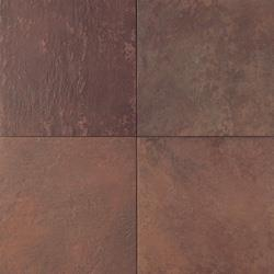 Daltile  Porcelain Tile - Continental Slate Series Indian Red / Various Sizes