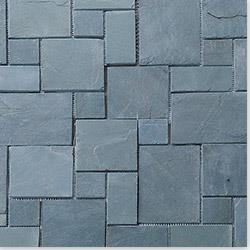 Roterra Slate Tile - Meshed Back Patterns