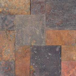 Cabot Slate Tile - French Pattern