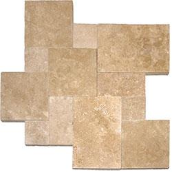 Cabot Travertine Pavers - Pattern Sets