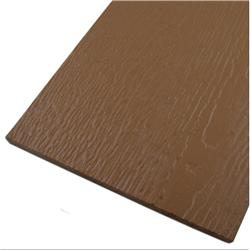 """Ailesbury Wood Siding - Engineered Wood Pre-Finished Lap Siding  Chestnut Brown / Wood Grain 3/8""""x6""""x16'"""
