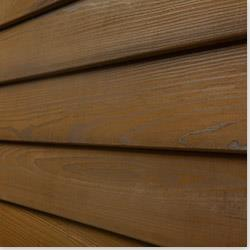 """Pavilion  Wood Siding - Thermo25 Thermally Treated Cypress Siding Bevel / Clear / 5/8""""x5-1/4"""""""