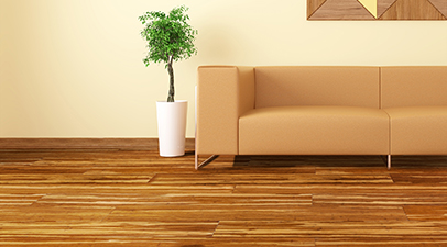 Green Bamboo Flooring