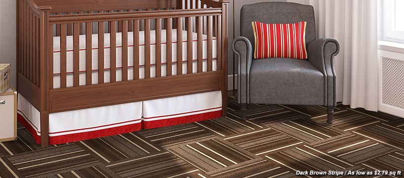 BuildDirect carpet tiles Starting at $1.39 /sq ft
