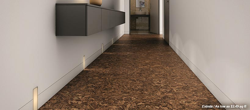 BuildDirect Cork Flooring Starting at $2.29 /sq ft