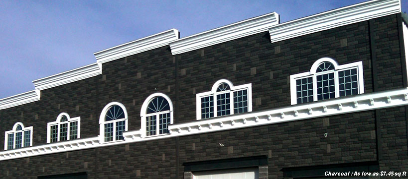 BuildDirect Faux Stone Siding panels Starting at $7.45 / sq ft