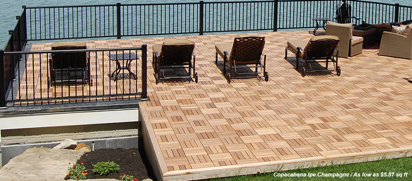 BuildDirect Deck Tile Starting at $2.49 / sq ft