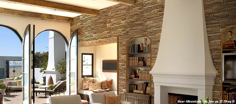 Manufactured Stone Veneer at BuildDirect