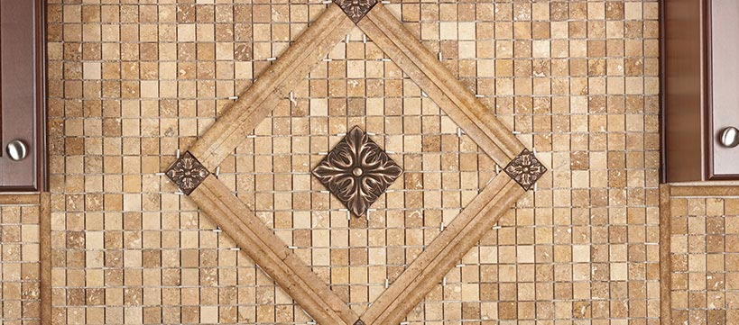 BuildDirect Natural Stone Mosaic Starting at $4.35 / sq ft