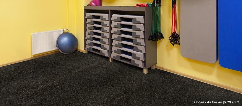 BuildDirect Rubber Flooring Starting at $0.99 /sq ft