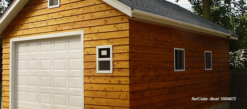 BuildDirect Wood Siding Starting at $4.59 / sq ft